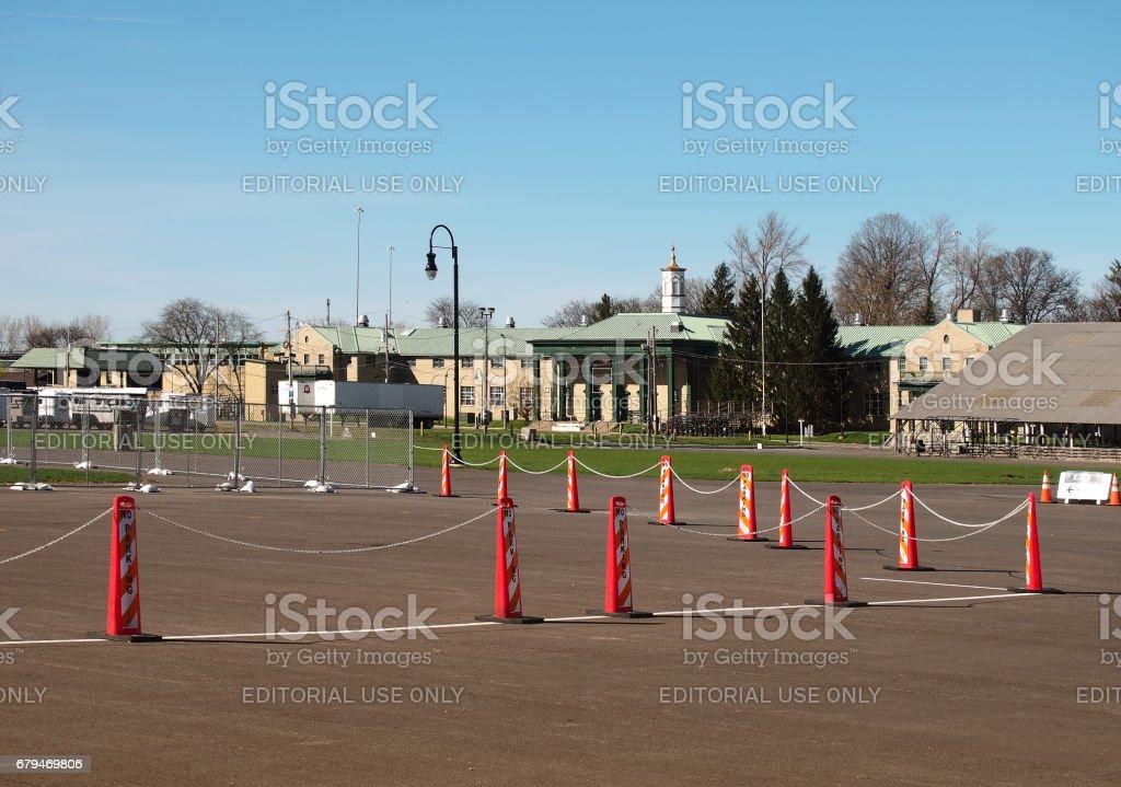 New York State Fairgrounds 免版稅 stock photo