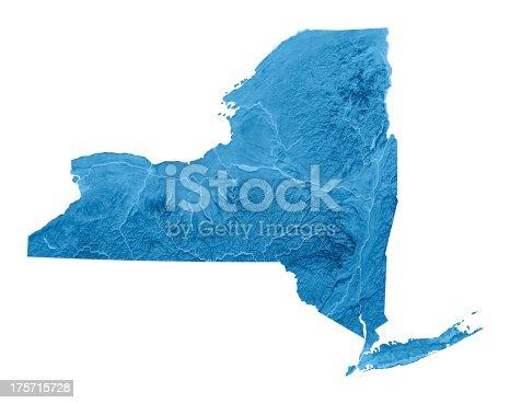 173169385istockphoto New York State Topographic Map Isolated 175715728