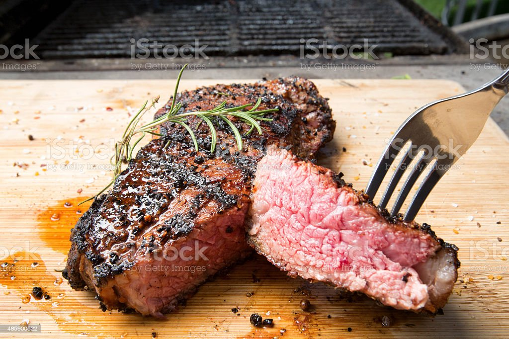 New York Steak stock photo