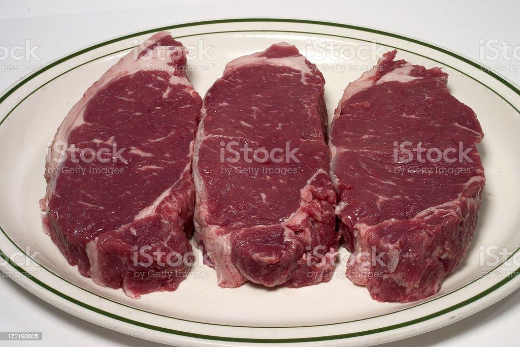 New York Steaks royalty-free stock photo