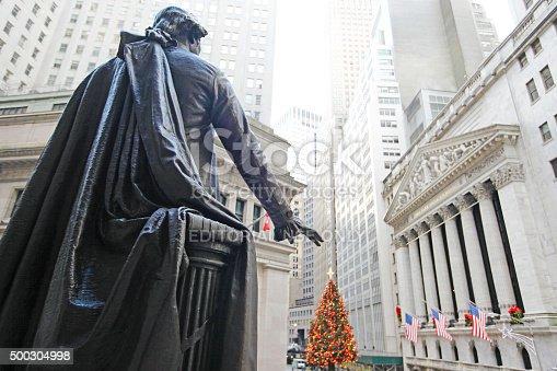 istock New York Stock Exchange Christmas 500304998