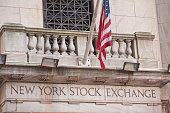 New York City, USA - December 28, 2013: The New York Stock Exchange is a stock exchange located at 11 Wall Street, Lower Manhattan, New York City, New York, United States.