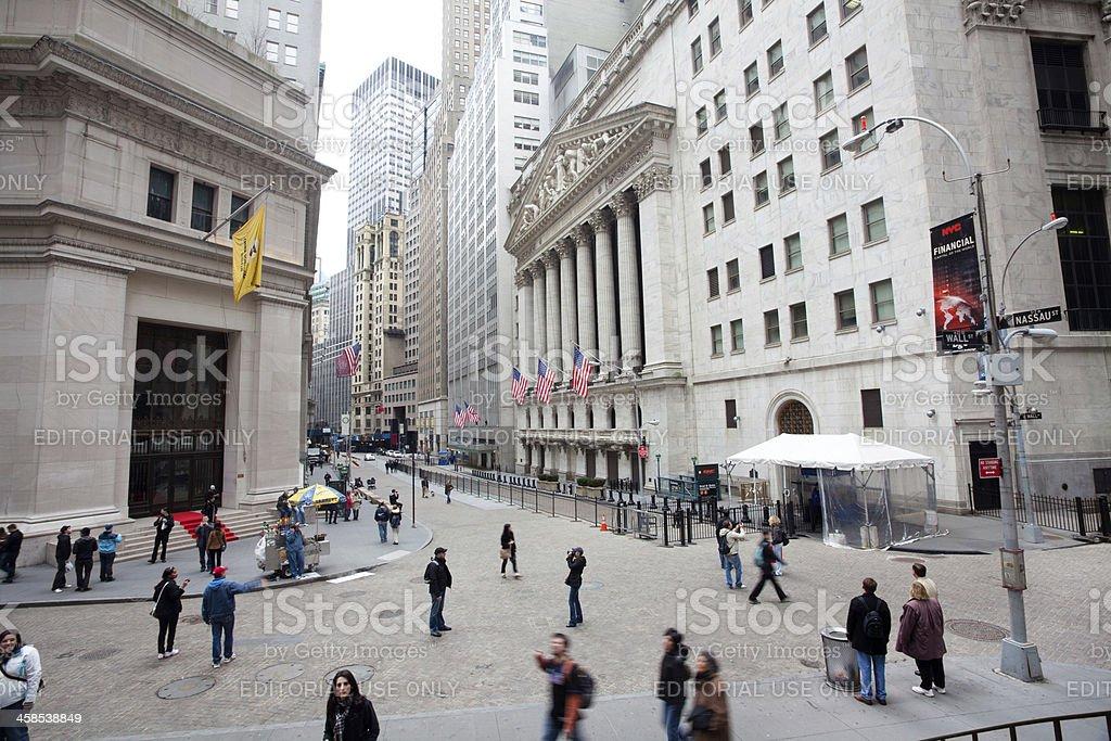 New York Stock Exchange royalty-free stock photo