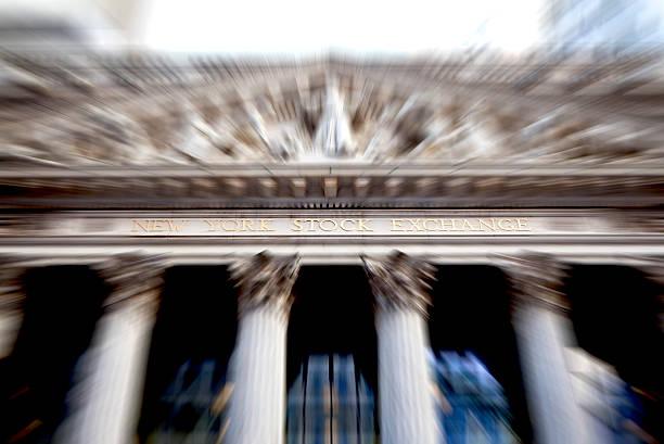 bolsa de valores de nova iorque - nyse crash imagens e fotografias de stock