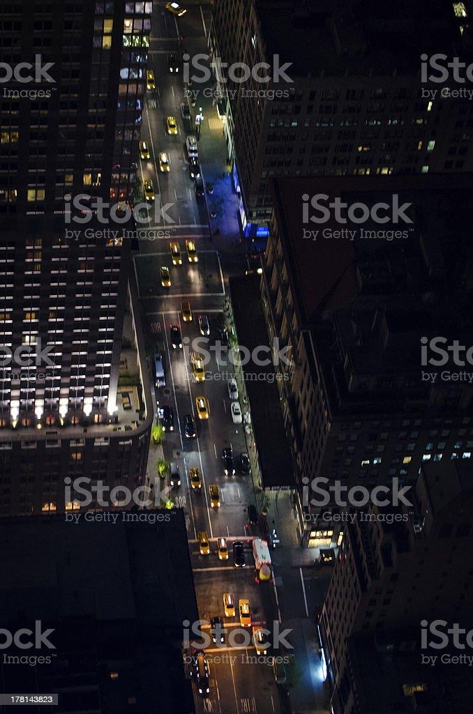 New York Street Canyon royalty-free stock photo