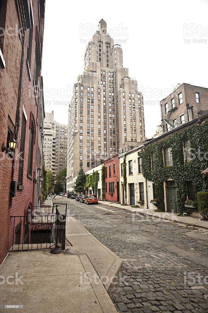 New York Street stock photo