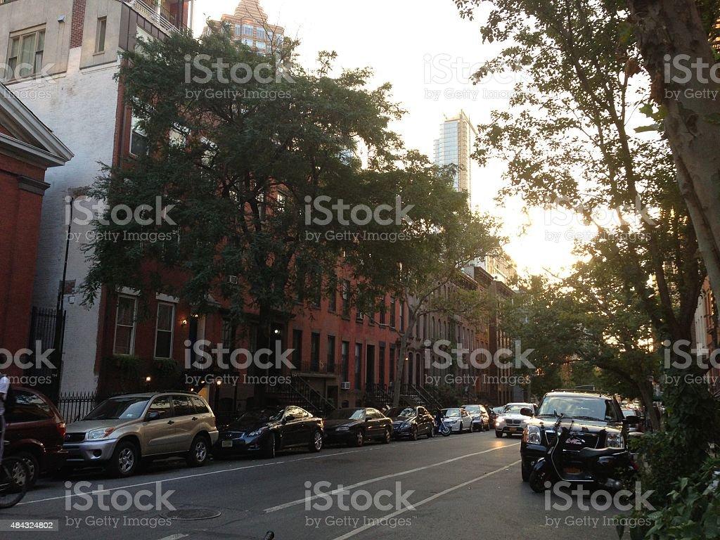 New York street. stock photo