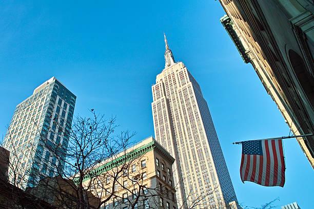 New York street view stock photo