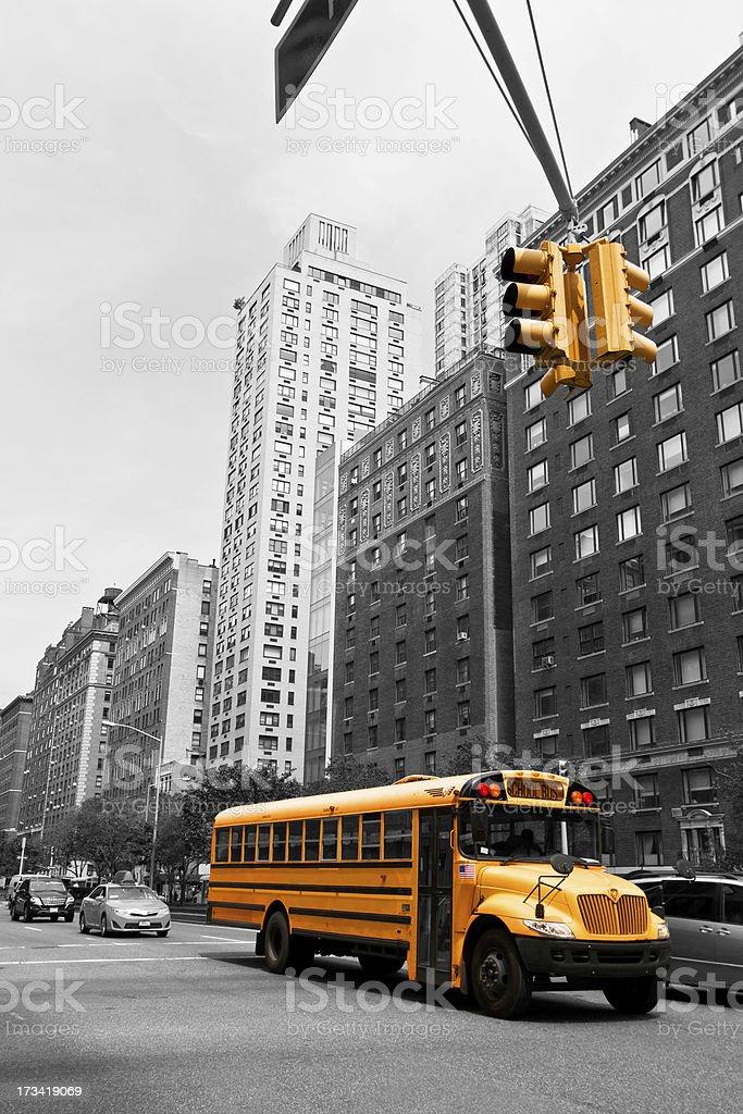 New York streets, USA stock photo
