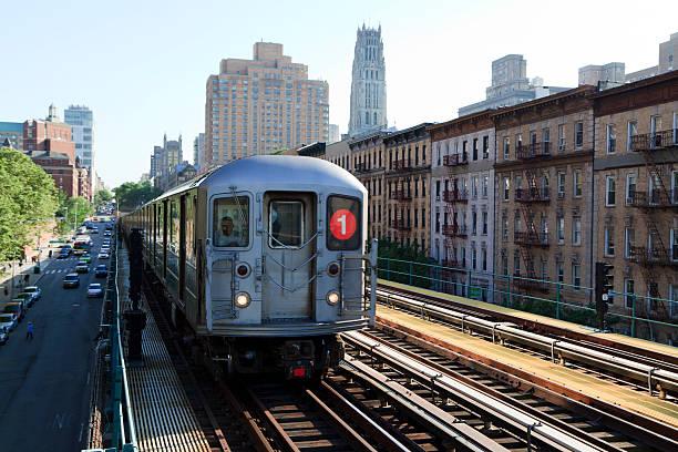 della metropolitana di new york - subway foto e immagini stock