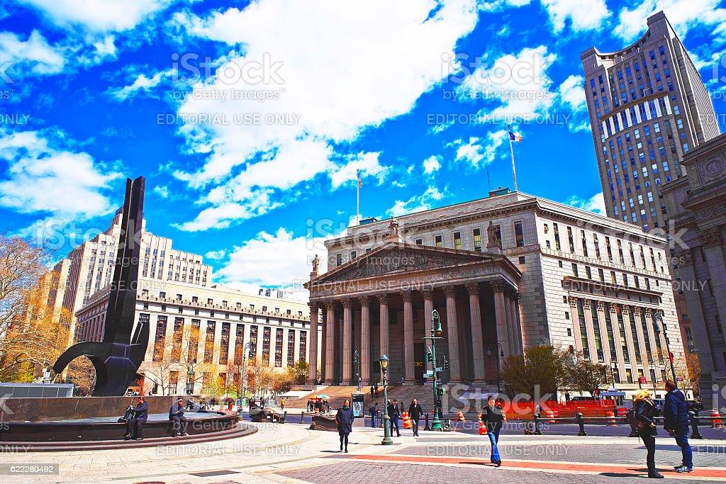 New York Supreme Court stock photo