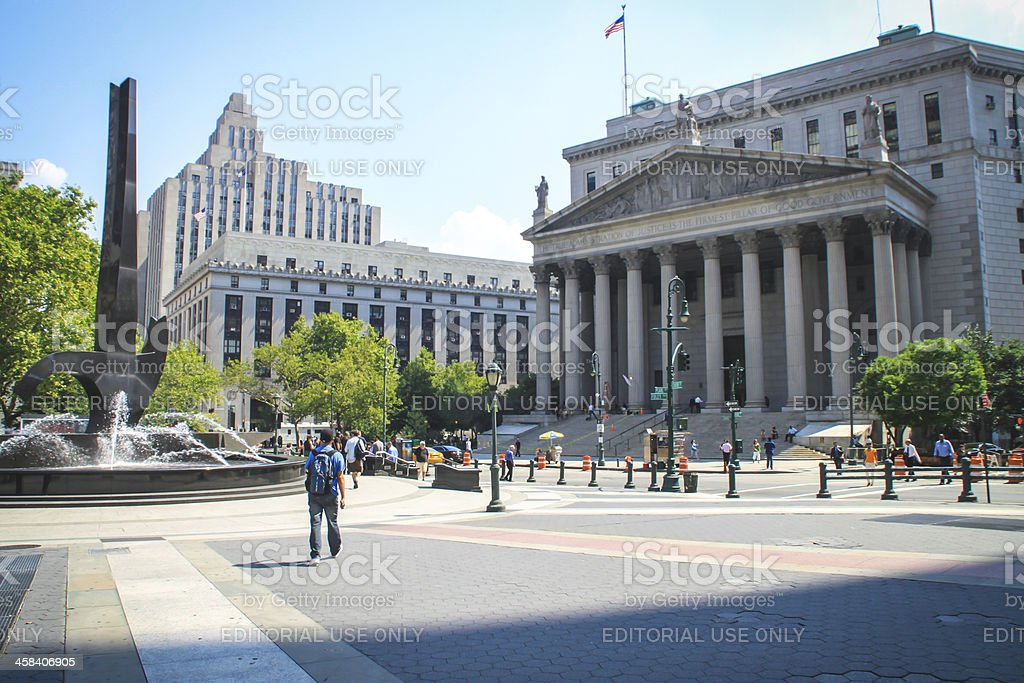 New York Supreme Court, USA stock photo
