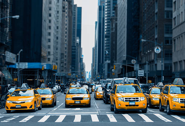 Taxi in New York  – Foto