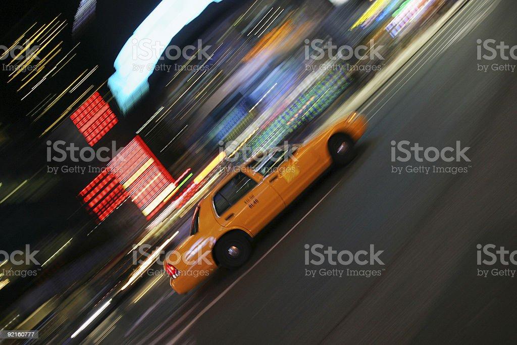New York Taxi royalty-free stock photo