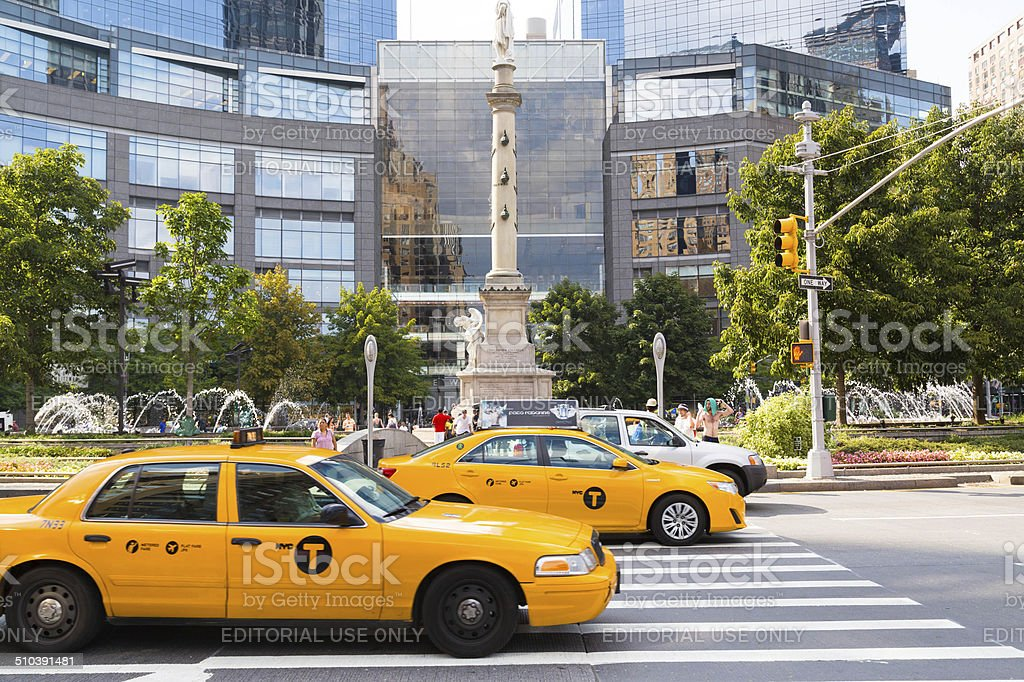 New York Taxi's stock photo