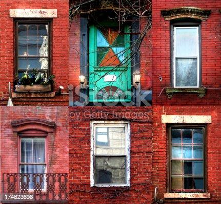 windows and doors from Lower Manhattan