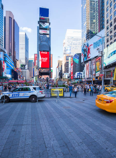 New York, Time Square stock photo