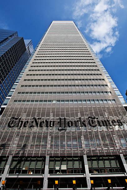 new york times building - new york times stock-fotos und bilder