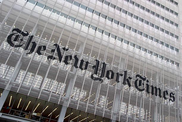 New York Times stock photo