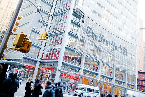 new york times - new york times stock-fotos und bilder