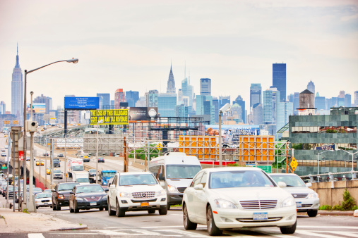New York Traffic Stock Photo - Download Image Now