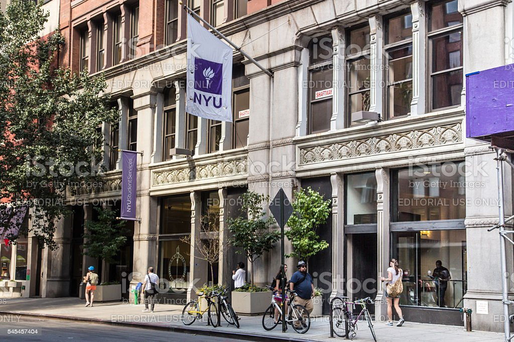 NYU New York University Royalty Free Stock Photo