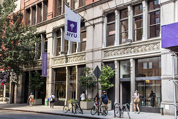 NYU New York University stock photo