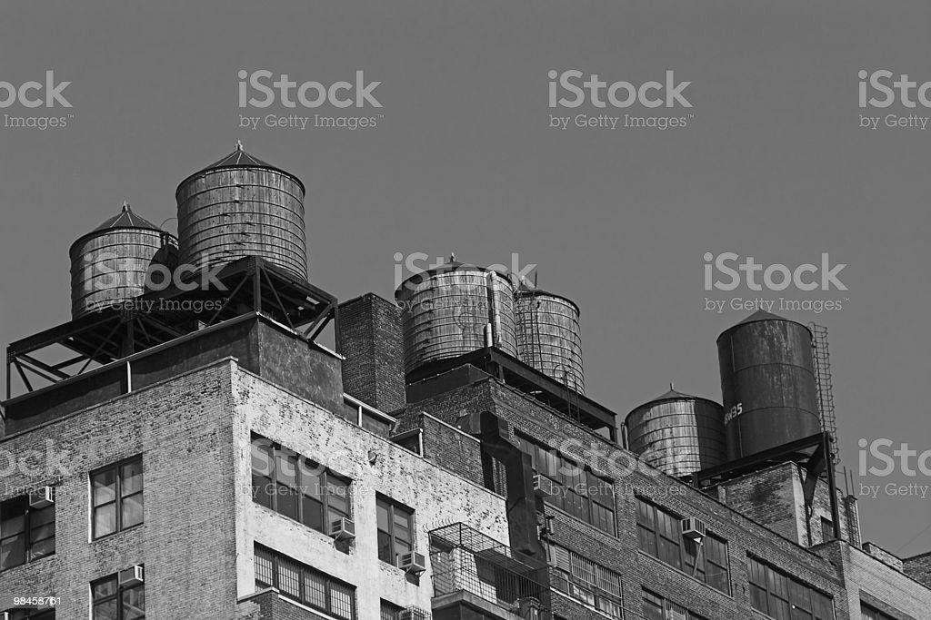 New York water reservoir royalty-free stock photo