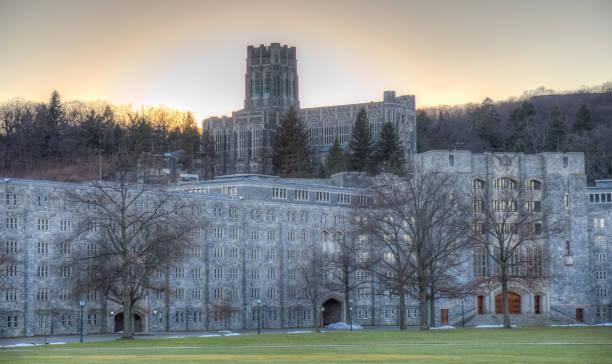 New York - West Point - Cadet Chapel stock photo
