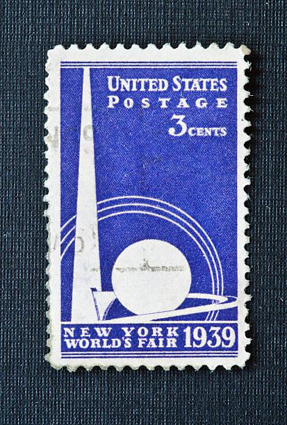 New York Worlds Fair 1939 Timbre - Photo