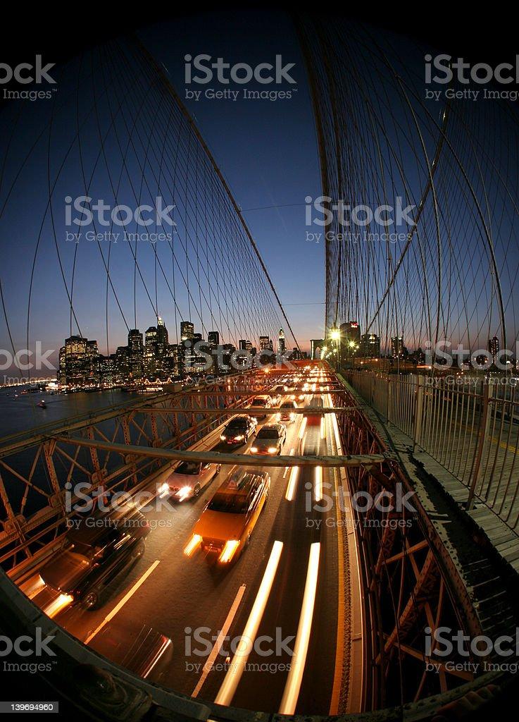 New York,Brooklyn bridge royalty-free stock photo