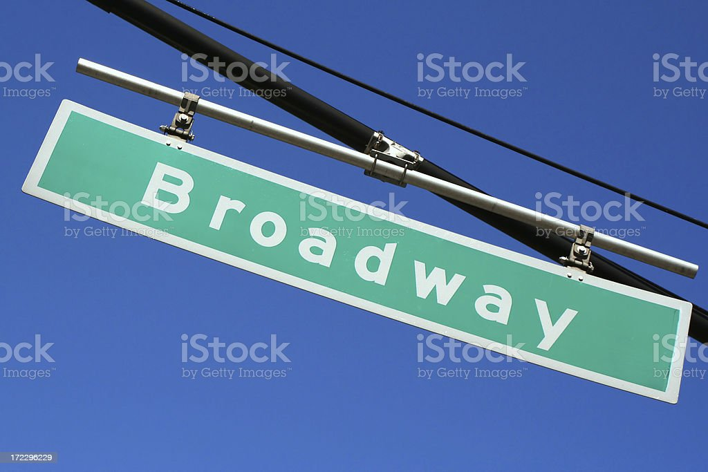 New York's Broadway # 2 royalty-free stock photo
