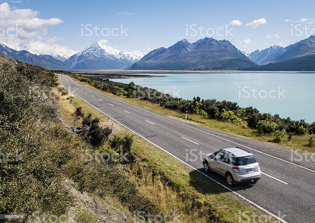 New Zealand Adventure stock photo