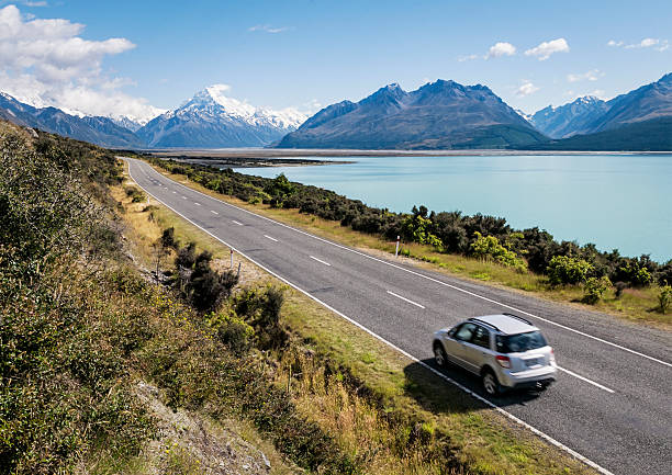 new zealand adventure - distant stock photos and pictures