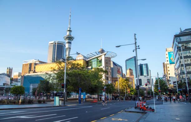 New Zealand: Auckland stock photo