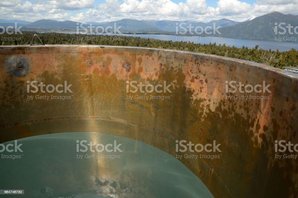 New Zealand crude oil royalty-free stock photo