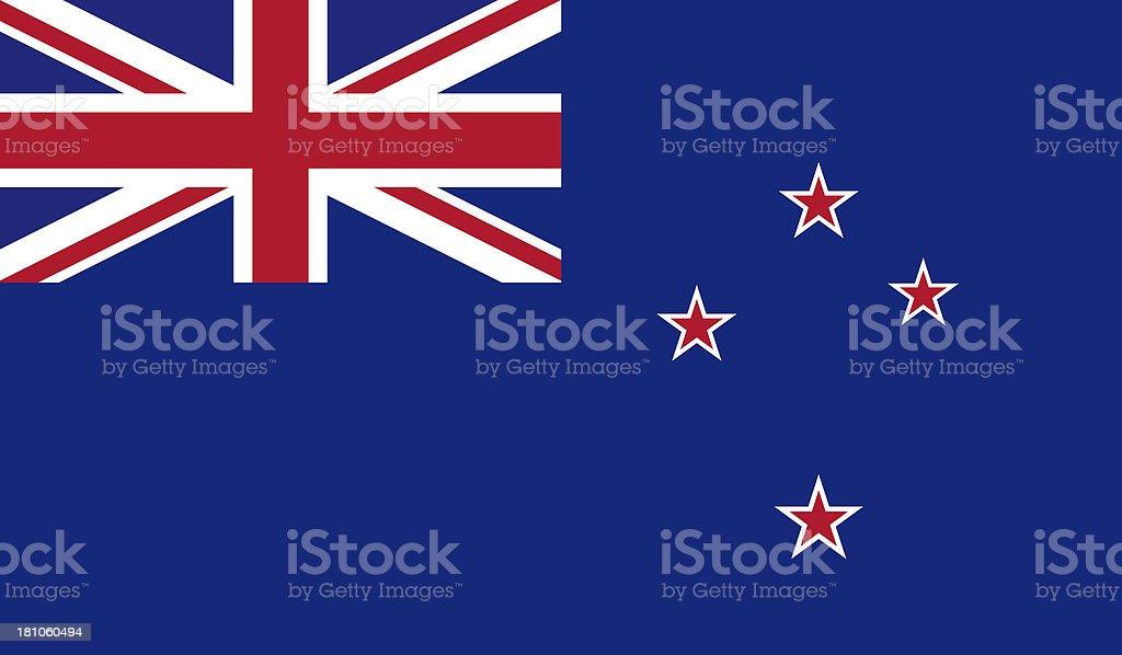 Neuseeländische Flagge – Foto