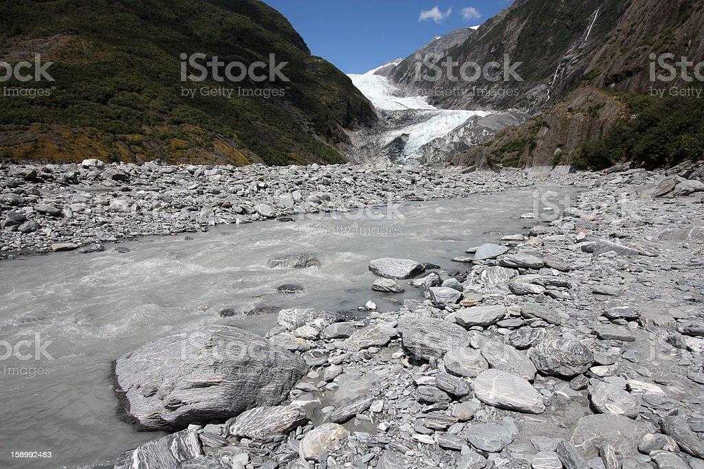 New Zealand - Franz Josef Glacier royalty-free stock photo