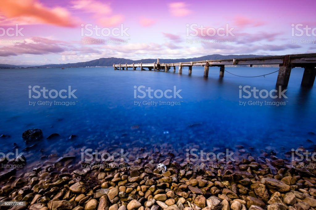 Neuseeland Landschaft in Wellington Somes Island – Foto