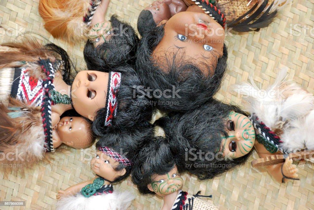 New Zealand Maori Culture Whanau (Family) Concept stock photo