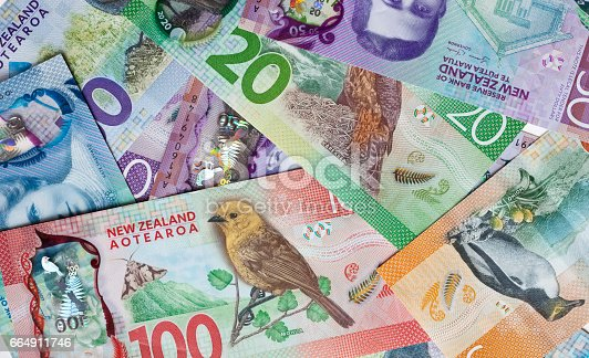 istock New Zealand money, currency or cash 664911746