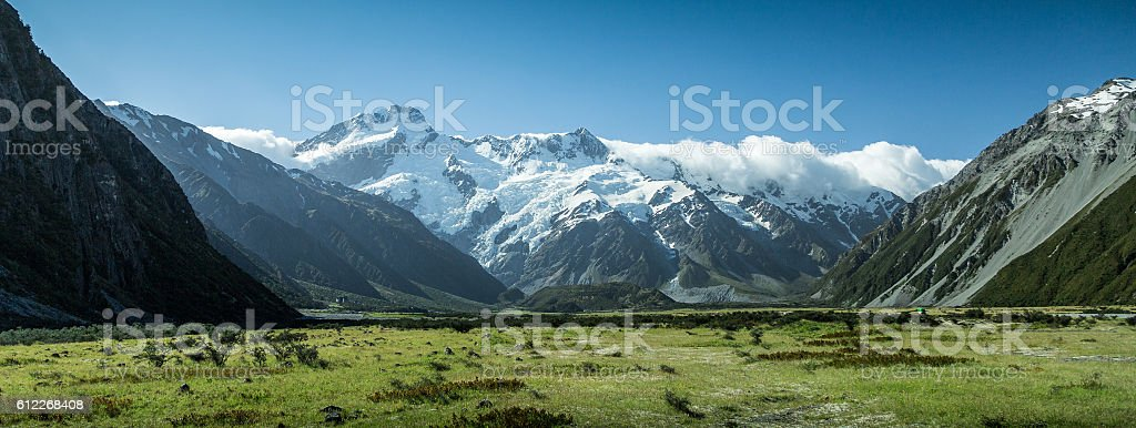 New Zealand - Mount Cook stock photo