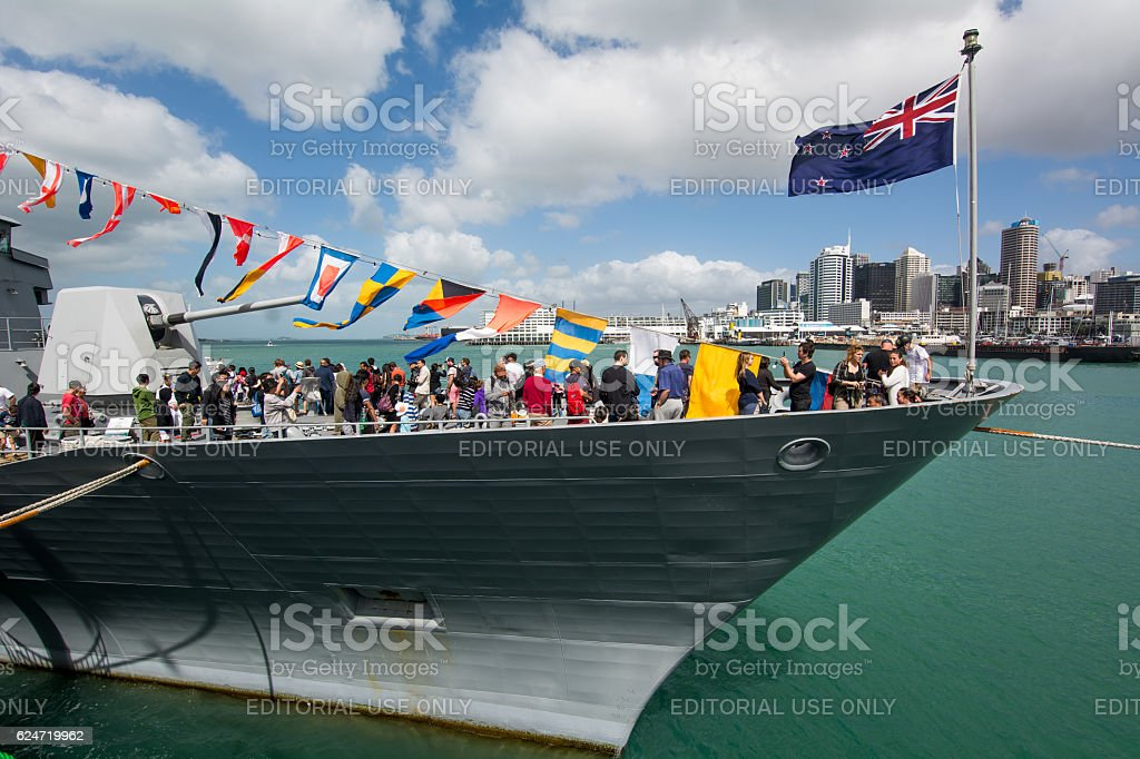 New Zealand Navy stock photo