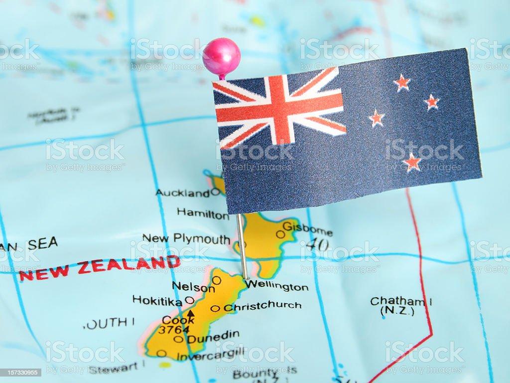 New Zealand royalty-free stock photo
