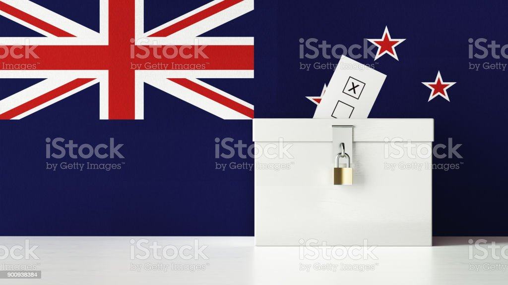 New Zealand Presidential and Legislative Elections Concept stock photo