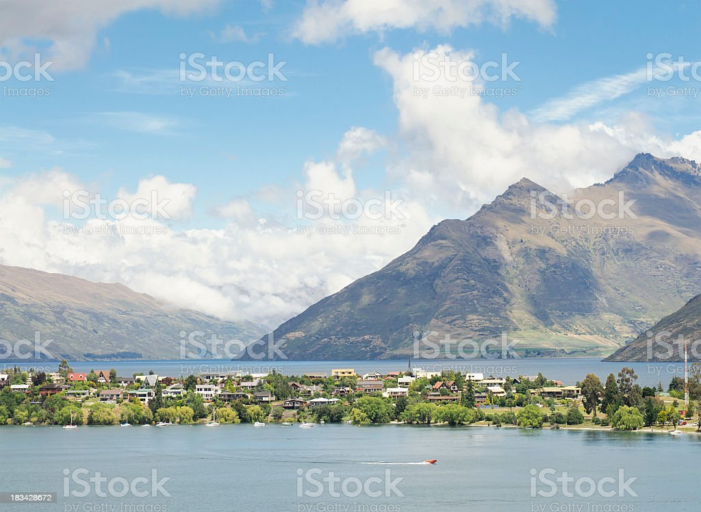 New Zealand Real Estate - Lifestyle Homes royalty-free stock photo