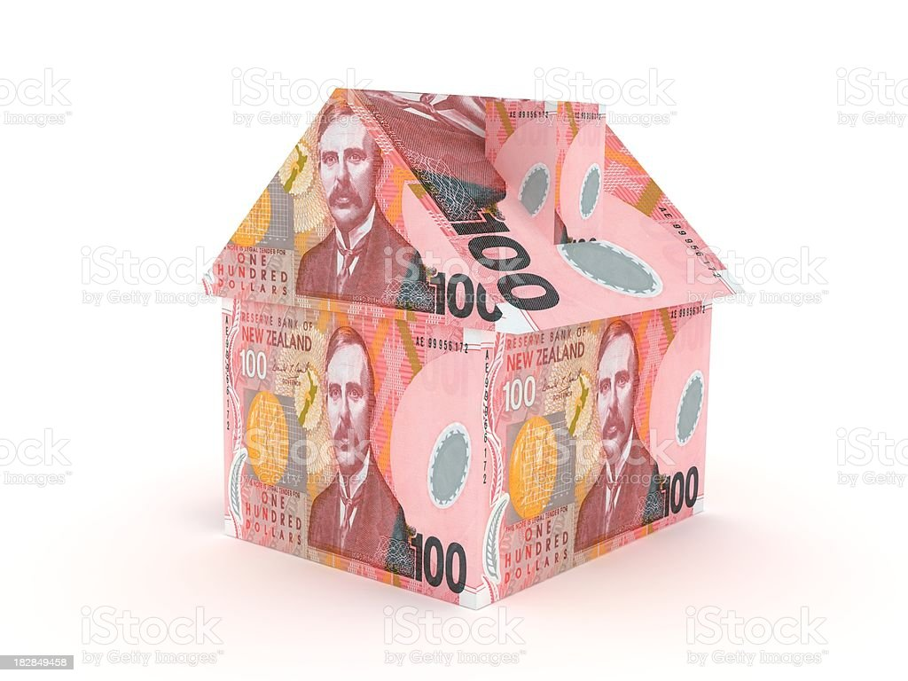 New Zealand Real Estate royalty-free stock photo