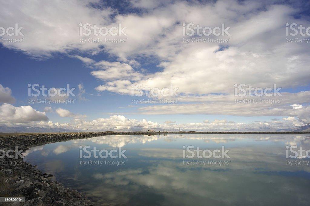New Zealand Reflections stock photo