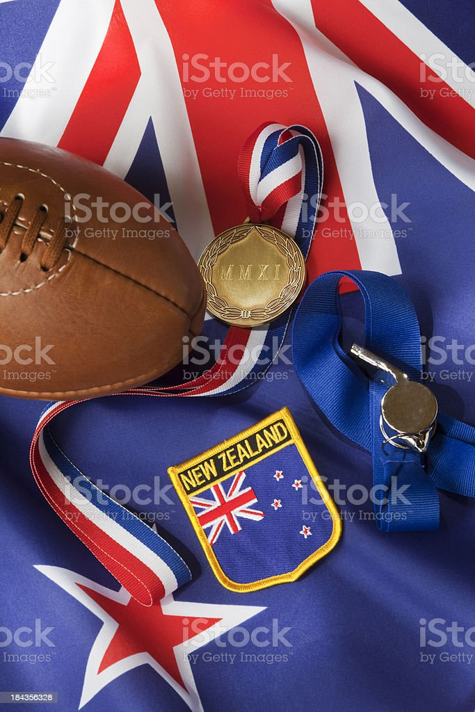 New Zealand Rugby World Cup Champions 2011 royalty-free stock photo