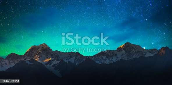 istock New Zealand scenic mountain landscape at Mount Cook  milky way 860798220